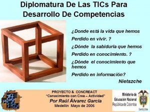 Diplomatura De Las TICs Para Desarrollo De Competencias