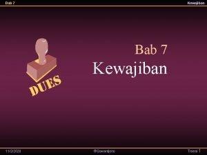 Bab 7 Kewajiban 1122020 Suwardjono Transi 1 Bab