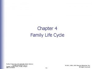 Chapter 4 Family Life Cycle Families Professionals Exceptionality