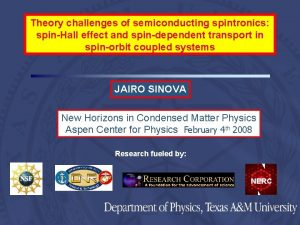 Theory challenges of semiconducting spintronics spinHall effect and
