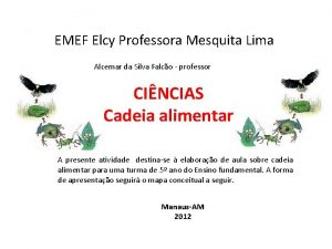 EMEF Elcy Professora Mesquita Lima Alcemar da Silva