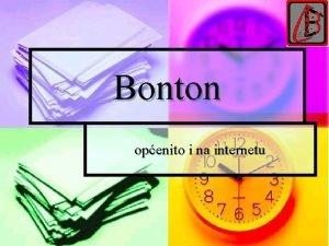 Bonton openito i na internetu to je bonton