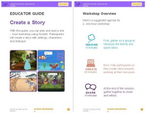 CREATE A STORY EDUCATOR GUIDE Workshop Overview Create