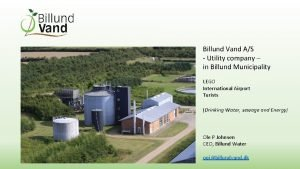 Billund Vand AS Utility company in Billund Municipality