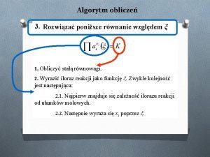 Algorytm oblicze 3 Rozwiza ponisze rwnanie wzgldem 1