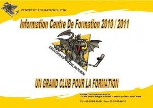 CENTRE DE FORMATION RHE 76 Centre De Formation