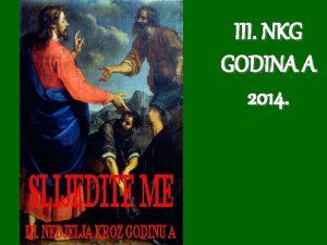 III NKG GODINA A 2014 1 Krist jednom