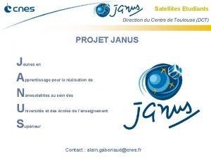 Satellites Etudiants Direction du Centre de Toulouse DCT