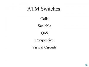 ATM Switches Cells Scalable Qo S Perspective Virtual