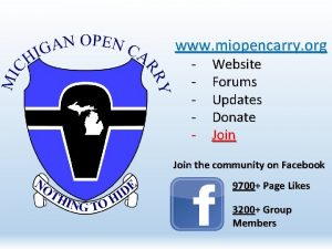 www miopencarry org Website Forums Updates Donate Join