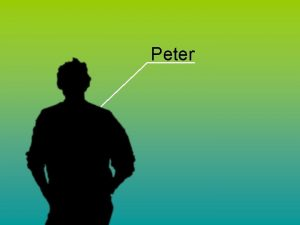 Peter Peter Alter 24 Jahre Gre 1 89
