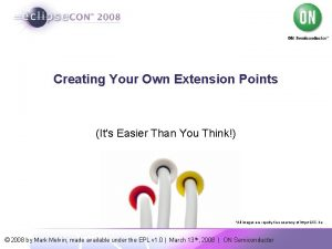 Creating Your Own Extension Points Its Easier Than