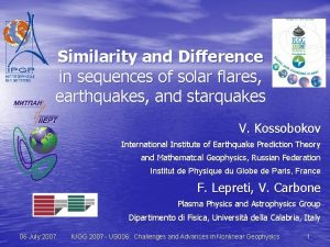 Similarity and Difference in sequences of solar flares