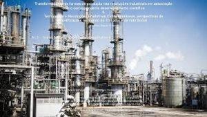 Transformaes nas formas de produo nas revolues industriais