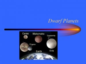 Dwarf Planets Pluto Neptunes orbit also didnt quite