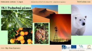 Elektronick uebnice I stupe 58 1 Podnebn psma