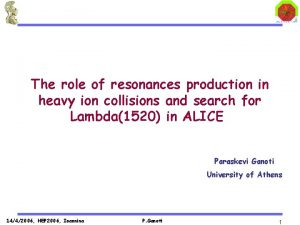 The role of resonances production in heavy ion