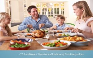 CFE Social Issues Theories and Evidence of Social