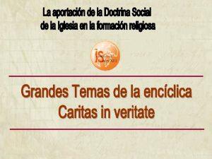 Formacin del profesorado Instituto Social Len XIII INTRODUCCIN