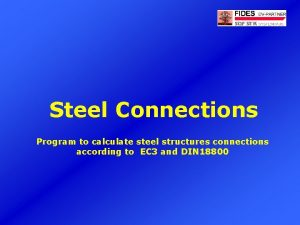Steel Connections Program to calculate steel structures connections