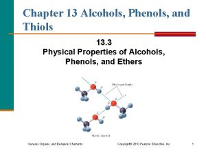 Chapter 13 Alcohols Phenols and Thiols 13 3