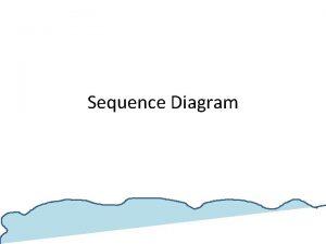 Sequence Diagram Sequence diagram diagram urutan adalah suatu