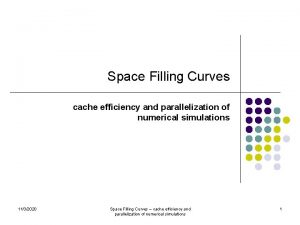 Space Filling Curves cache efficiency and parallelization of