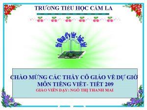 TRNG TIU HC CM LA GD CHO MNG