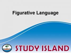 Figurative Language Identifying Figurative Language 1 Does the