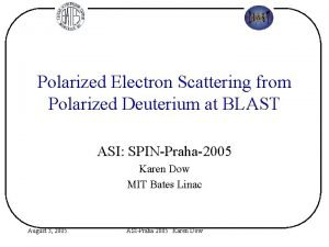 Polarized Electron Scattering from Polarized Deuterium at BLAST