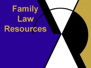 Family Law Resources LII Topical Pages Family Law