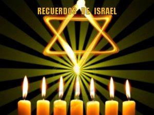RECUERDOS DE ISRAEL I S R A E