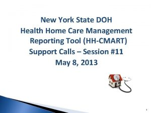New York State DOH Health Home Care Management