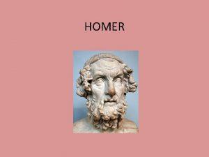 HOMER Uvod u grku knjievnost Grka knjievnost se