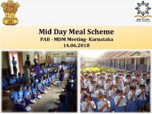 Mid Day Meal Scheme PAB MDM Meeting Karnataka