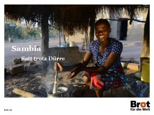 Sambia Satt trotz Drre Seite 20 Sambia Deutschland
