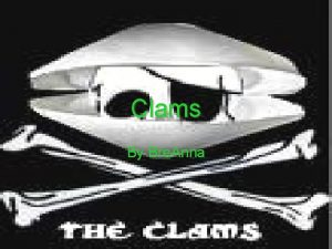 Clams By Bre Anna Pictures of Clam The