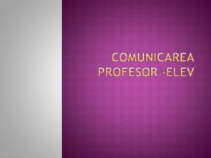 Comunicarea reprezinta instiintare stire veste raport relatie legatura
