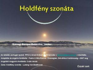 Holdfny szonta Szveg Enrique Baldovino zensz Az eredeti