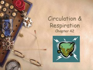 Circulation Respiration Chapter 42 Circulatory systems w Closed
