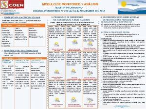 r MDULO DE MONITOREO Y ANLISIS Distribucin Casa