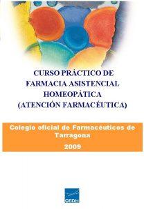 CURSO DE FARMACIA ASISTENCIAL HOMEOPTICA ATENCIN FARMACUTICA CURSO