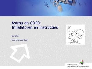 Astma en COPD Inhalatoren en instructies spreker dag