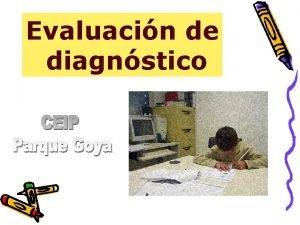 Evaluacin de diagnstico LAS EVALUACIONES DE DIAGNSTICO Artculos