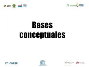 Bases conceptuales Tiempo atmosfrico Es el estado de