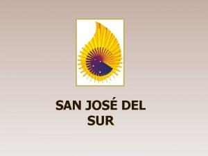 SAN JOS DEL SUR Provincia San Jos del