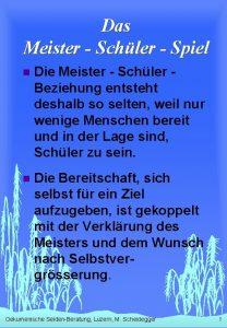 Das Meister Schler Spiel n Die Meister Schler