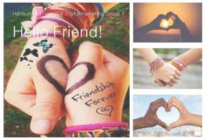 Hansung University Digitalmarketing Group F Hello Friend CONTENTS