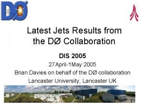 Latest Jets Results from the D Collaboration DIS
