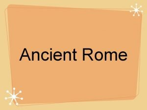 Ancient Rome Origins of Rome Italy is in